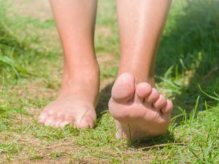 Blote-voeten-pad in Zutendaal